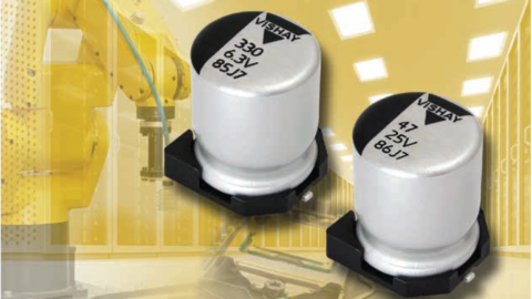 Conductive Polymer Aluminum Capacitors SMD (Chip), Low Impedance