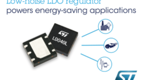 ST – LDO40L – Energy-Saving Low-Noise LDO Regulator Powers Automotive Modules and Smart Automation