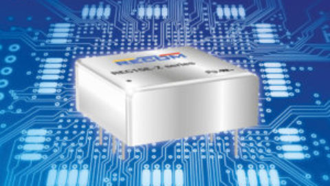 "Recom – 4:1 input DC/DC converters in compact 1"" x 1"" footprint"
