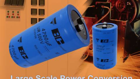 500 PGP-ST Screw-Terminal Capacitors Extended With 500 V Rated Voltage and Useful Life to 5000 h