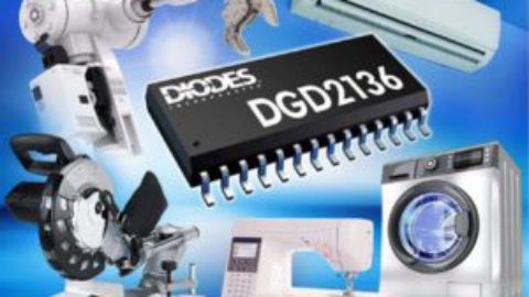 Diodes – Three-phase half-bridge gate driver simplifies BLDC and PMSM motor drive