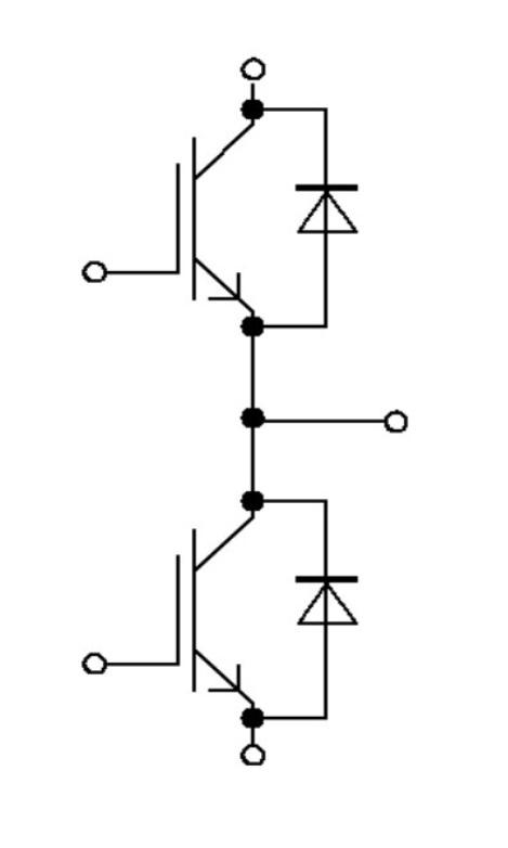 Схема IGBT модуля