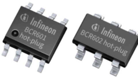 Infineon – BCR601 and BCR602 – 60 V linear LED controller ICs
