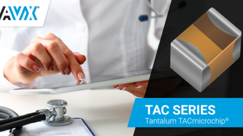 AVX Extends Its TACmicrochip Series With Another Superlative: The Industry's Lowest-Profile 3216 Tantalum Capacitor