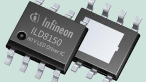 Infineon – ILD8150E – 80V DC/DC Buck LED Driver IC