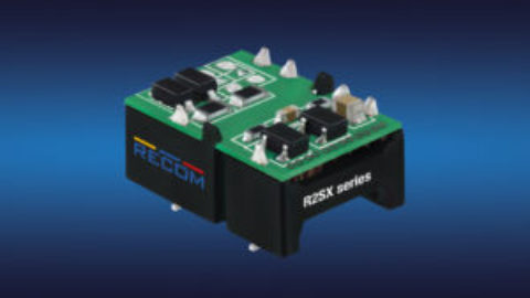 Recom – R2SX series – Low cost 2W DC/DC converters in open-frame SMD