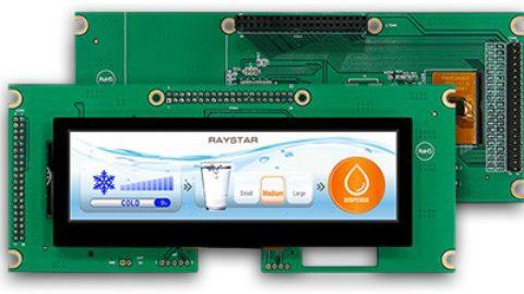 5.2″ 480×128 dots PCAP Bar TFT LCD Display
