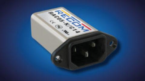 Recom – RAC05-K/C14 – 5W single output AC/DC power supply adapter