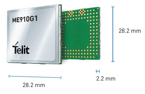 ME910G1 – LTE Cat  M1 & NB2 Modules |