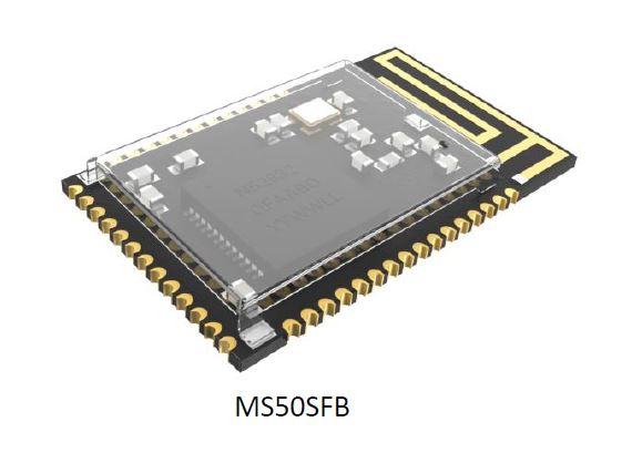 Minew MS50SFB Bluetooth Module based on nRF52832 - RUTRONIK-TEC
