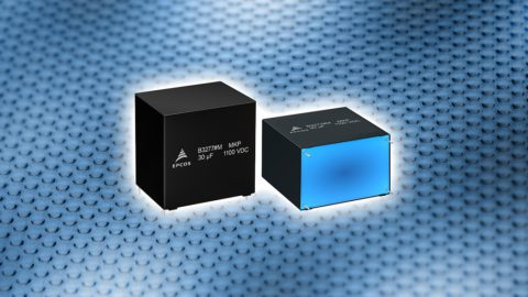 TDK Robust DC link capacitors B3277*M-Series