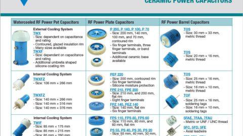 Ceramic Power Capacitors – Capabilities and Custom Options