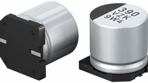 Panasonic Industry's ZKU series Hybrid Capacitors enable designers to reduce the number of capacitors on a PCB
