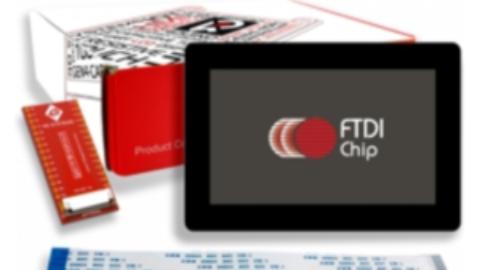 4D Systems gen4 FTDI display modules