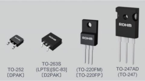 Rohm – 600V Super Junction PrestoMOS™ MOSFETS
