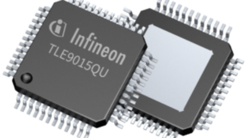 Infineon – TLE9015QU—Battery management transceiver IC