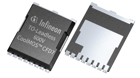 Infineon – 600V CoolMOS™ CFD7 in TO-leadless package