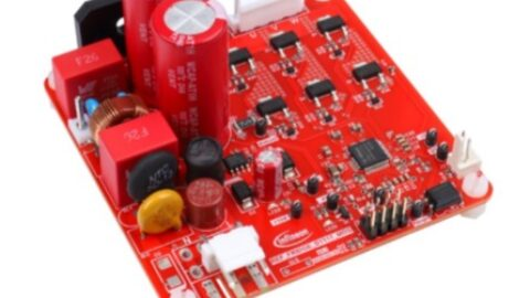Infineon – REF_FRIDGE_D111T_MOS – Reference design power stage for rotary fridge compressor with iMOTION™ SmartDriver IMD111T and 600 V CoolMOS