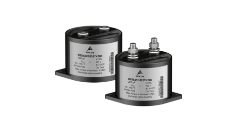 TDK introduces new DC link capacitors with exceptionally low ESL