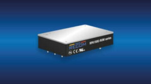 RECOM – RPA150Q – 16:1 input DC/DC converter for Railway Applications