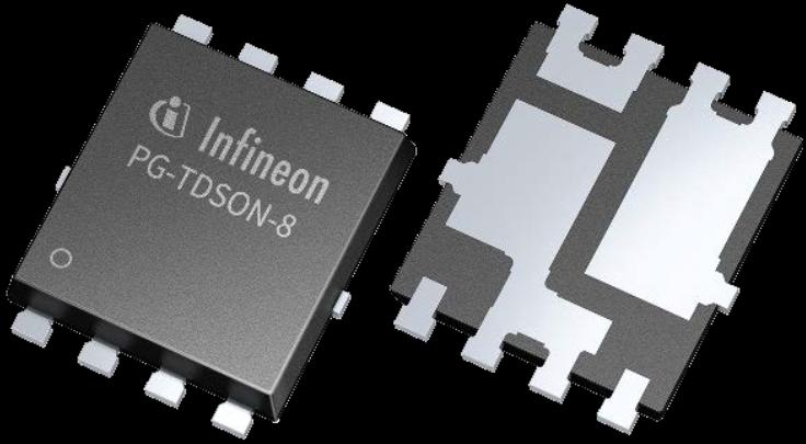Infineon, SSO8 Half-Bridge